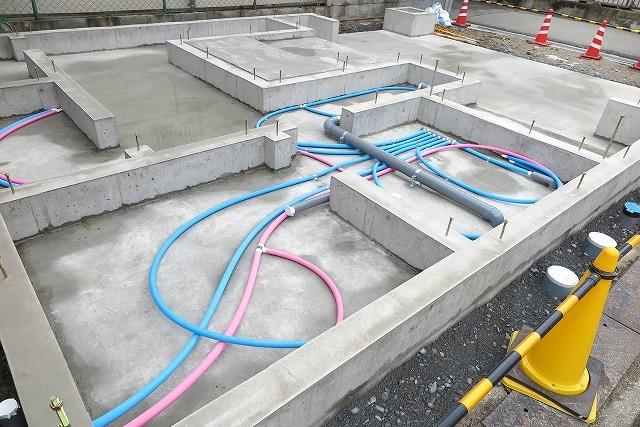 住宅の水道配管